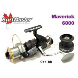 Безынерционая катушка Surf Master Maverik MA с байтраннером